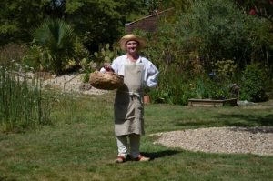"Barnabé le Jardinier, ""Le Jardin de Sable"", Conte au Jardin de Beauregard, Olonne-Sur-Mer"