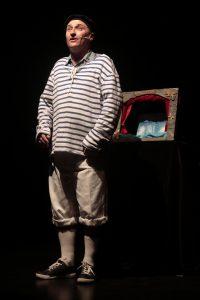 Conte et théâtre miniature Pêcheurs d'histoires, Le grain de sable et la perle magique
