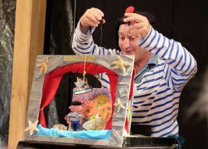 Conte et théâtre miniature Pêcheurs d'histoires