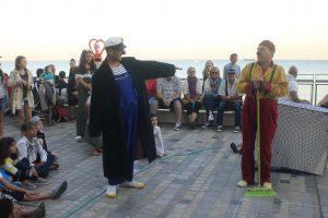 Les BatOclowns, théâtre gestuel