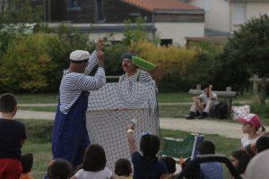 """Farce gestuelle, """"Les BatOclowns"""" avec Christophe Dorie et Thierry Rousse"""