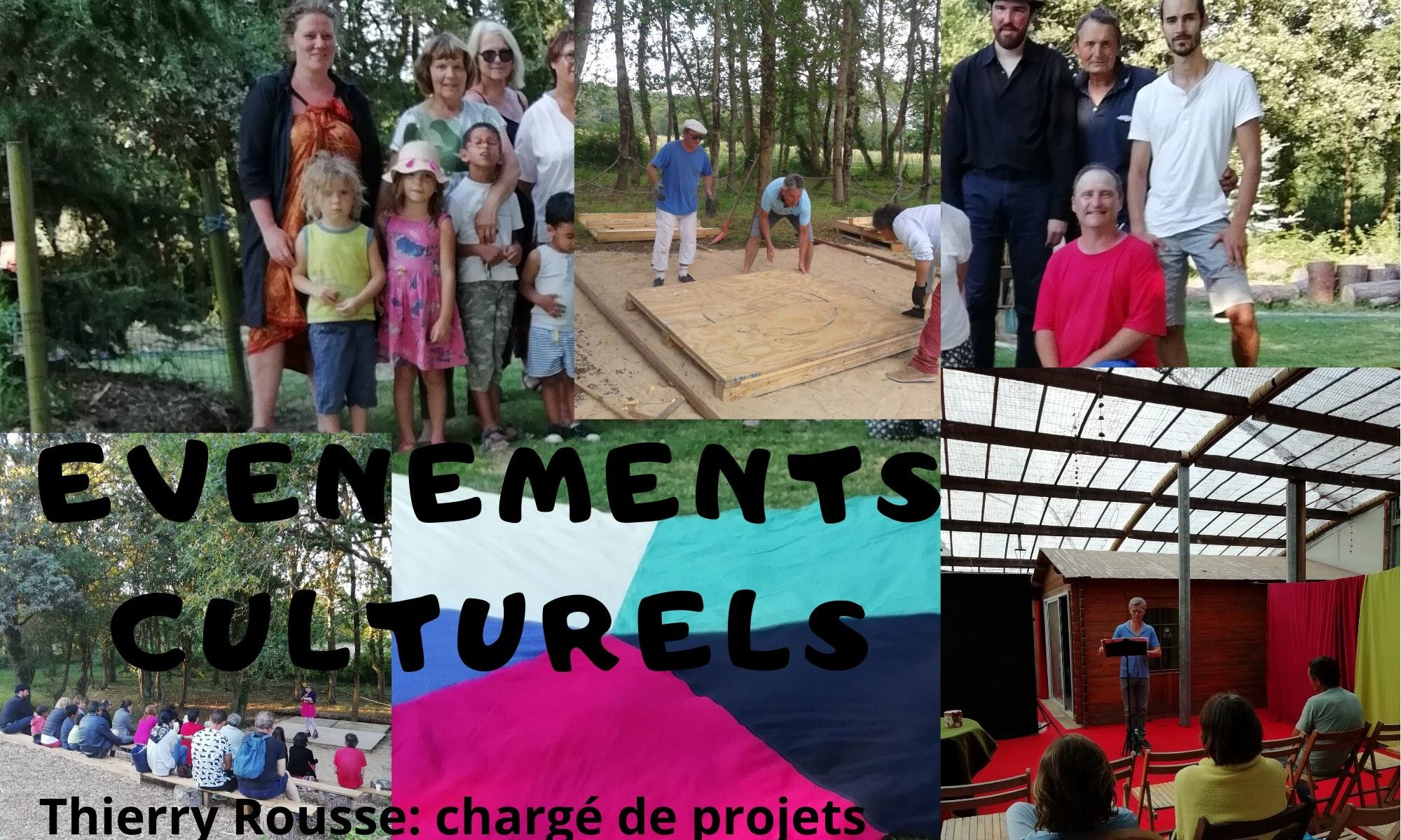 Thierry Rousse, chargé de projets culturels