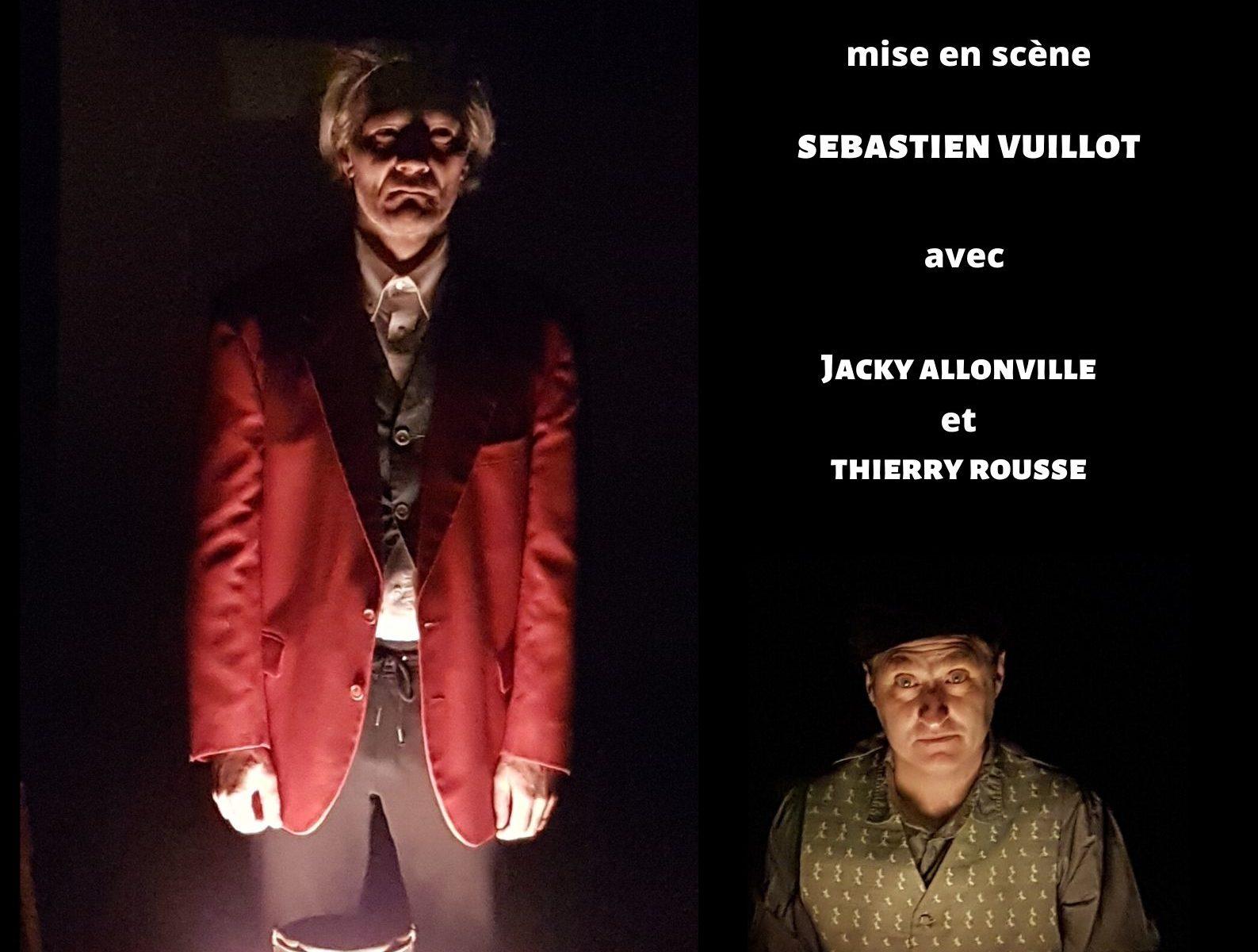 La ferme des animaux de George Orwell mise en scène de Sébastien Vuillot avec Jacky Allonville et Thierry Rousse